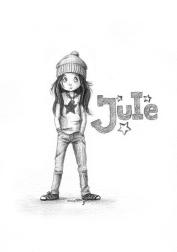 Bleistiftzeichnung für ein selbstverfasstes Kinderbuch