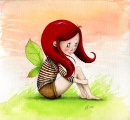 Verkauft: Illustration - Aquarell