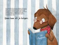 """Aquarellillustration für das Kinderbuch """"Olli und Olaf""""."""